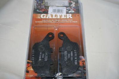 Galfer SV650 Black Organic Brake Pads