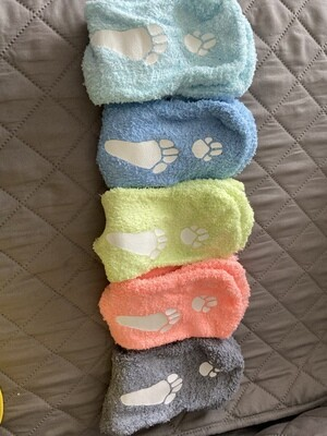 "Adult ""Always Under Foot"" Socks"