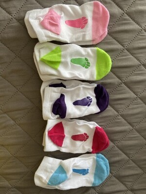 "Toddler/young kids ""Always Under Foot"" socks"