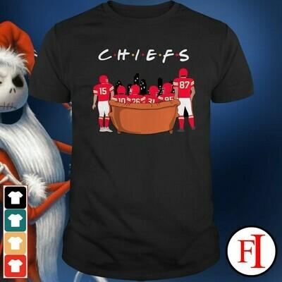 Kansas City Chiefs Baby Yoda The Mandalorian The Child First Memories Floating Football Team Dad Mon Kid Fan Gift T-Shirt