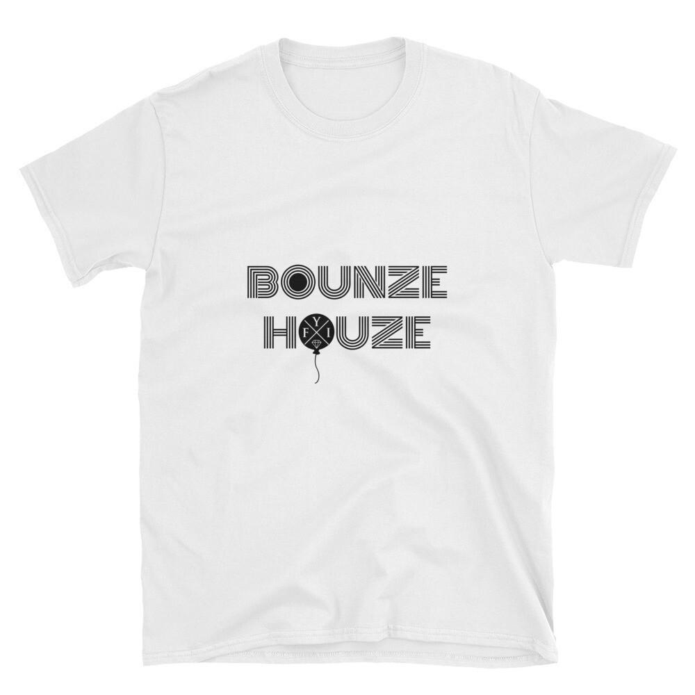 "Bounze Houze ""teeth white"" T-Shirt (unisex)"