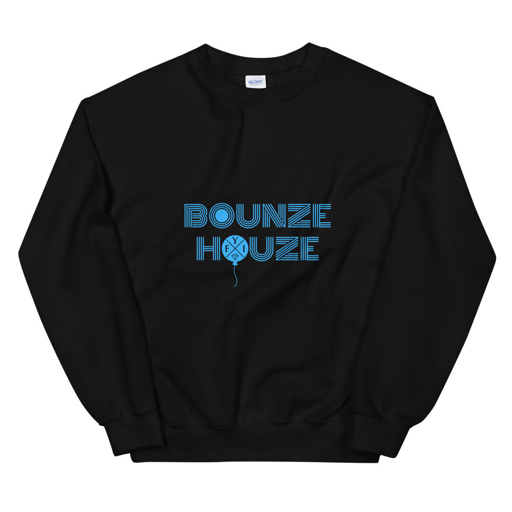 "Bounze Houze ""in the league"" Sweatshirt (unisex)"