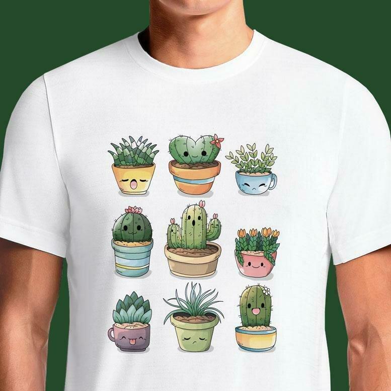 Succulents Kawaii