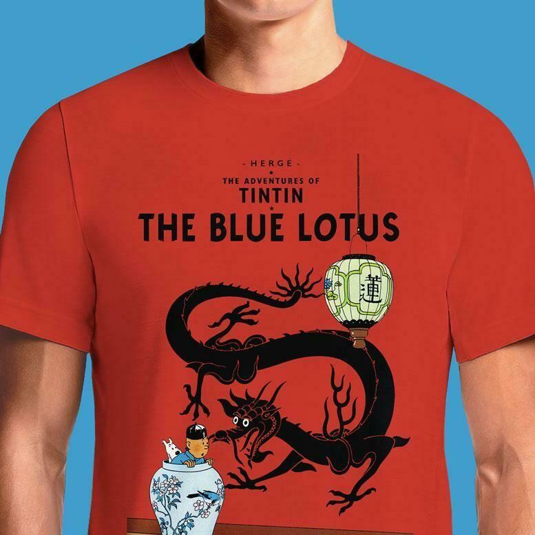 Tintin Blue Lotus