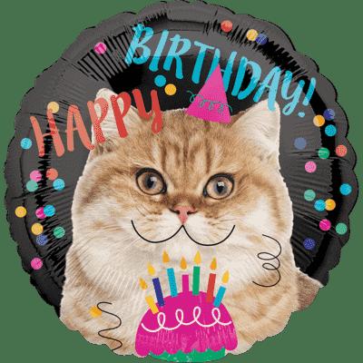 Globo de Cumpleaños Animal Birthday Helio