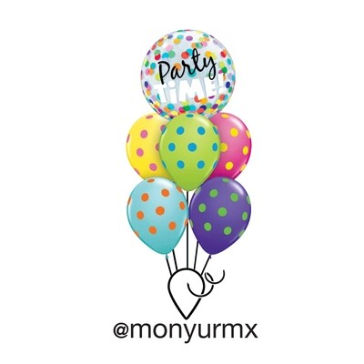 Party Time Balloon Bouquet