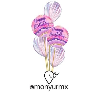 Birthday Agate Bouquet