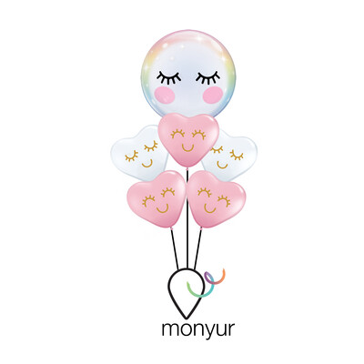 Super Cute Balloon Bouquet