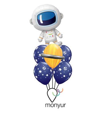 Astronaut Balloon Bouquet