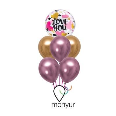 Love You Balloon Bouquet
