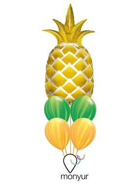 Pineapple Balloon Bouquet