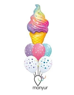 Ice Cream Balloon Bouquet