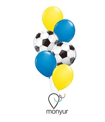 Football Balloon Bouquet