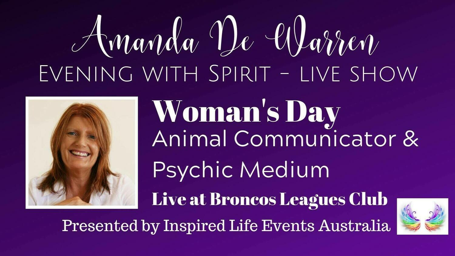 09/11/19 - Amanda De Warren - Evening with Spirit