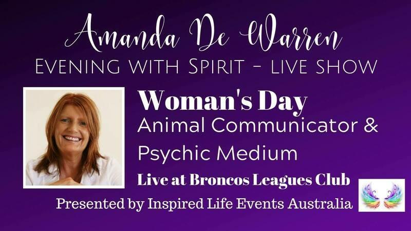 09/11/19 - Amanda De Warren - Evening with Spirit