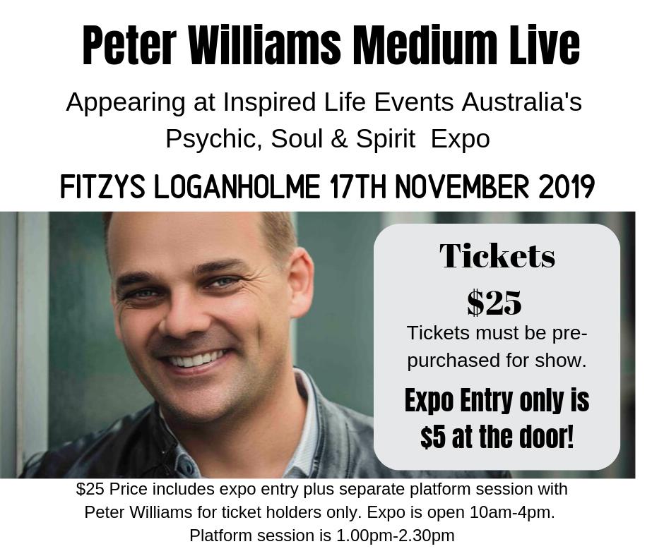 17/11/19 - Peter Williams Medium Live