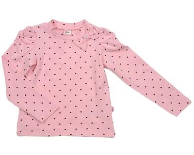 Блузка в горошек (98-122см) UD 2468 розовый