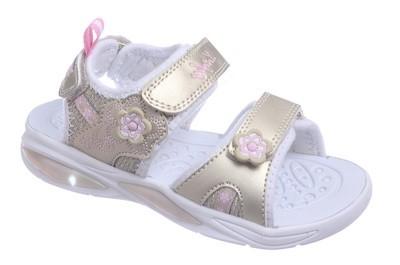 324016-12 Котофей Пляжная обувь (Светодиоды) оптом, размеры 25-29