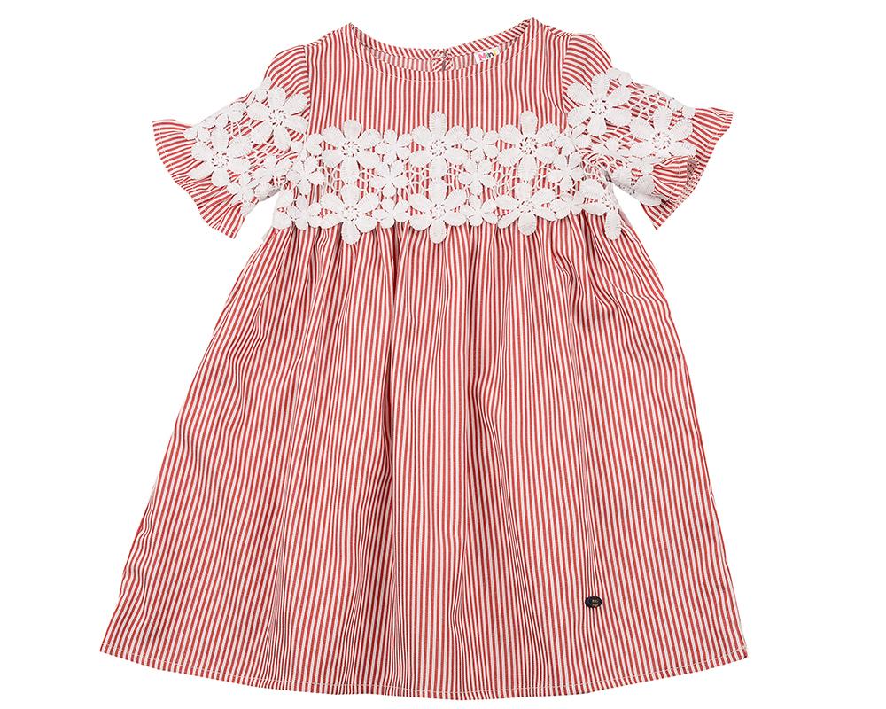 Платье (98-122см) UD 6324(1)красн UD 6324(1)красн