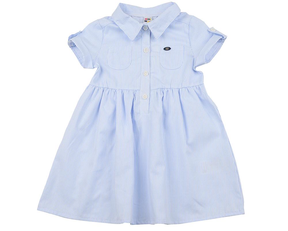 Платье (98-122см) UD 6329(1)гол полоса UD 6329(1)гол полоса