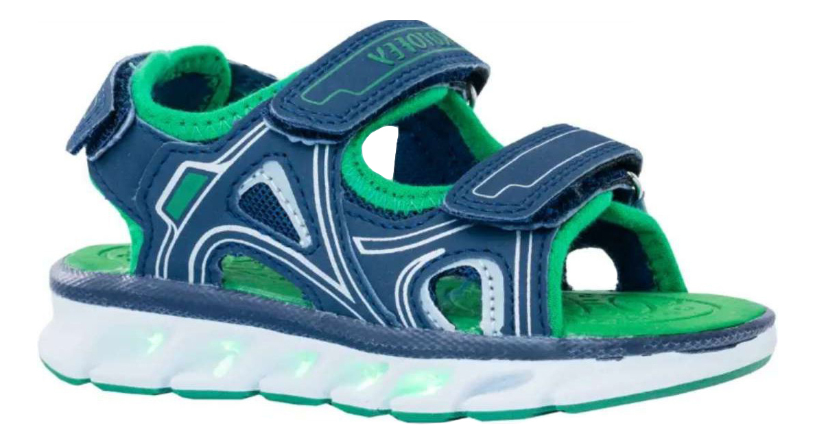 324025-11 Котофей Сандали (Светодиоды) обувь оптом, размеры 25-29 324025-11
