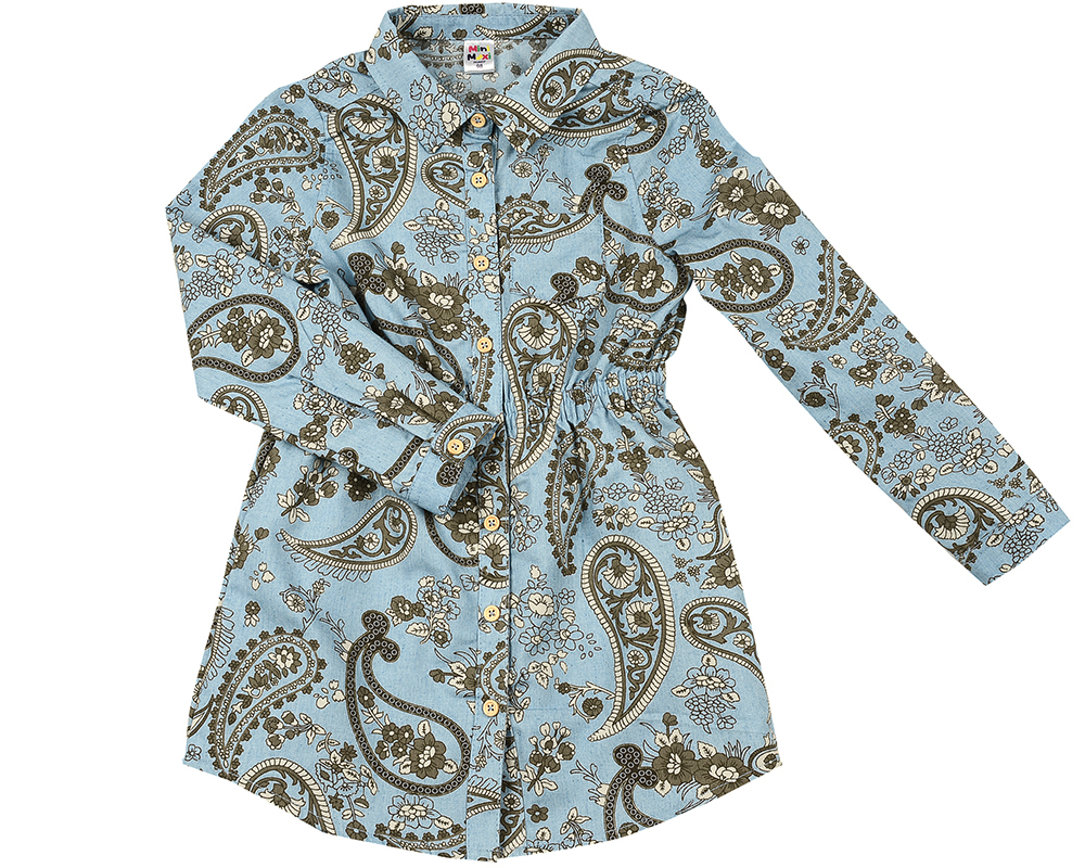 Платье (98-122см) UD 6365(1)дж.узоры