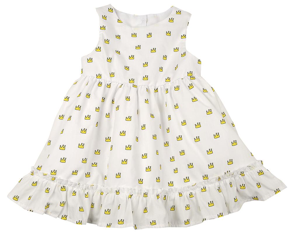 Платье (80-92см) UD 6371(1)короны