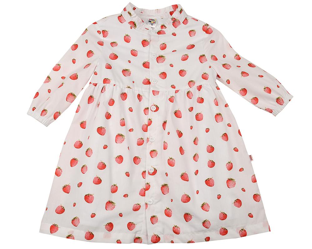 Платье (92-116см) UD 6372(1)клубника
