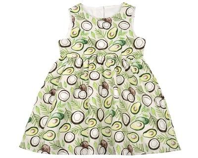 Платье (98-122см) UD 6412(1)авокадо
