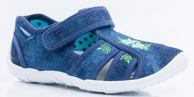 421045-12  Котофей Текстильные сандали оптом, размеры 26-33