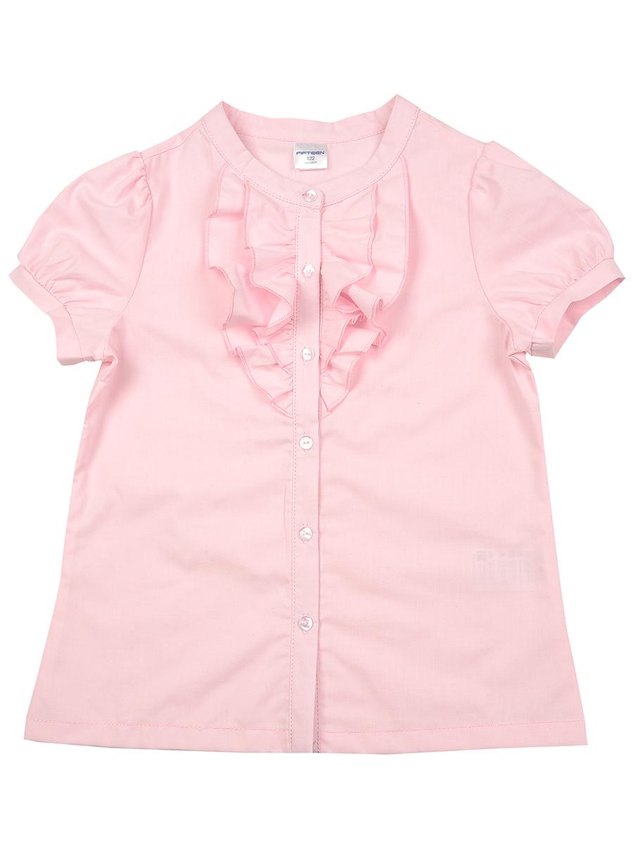 Блузка (122-146см) UD 2124(2)розовый