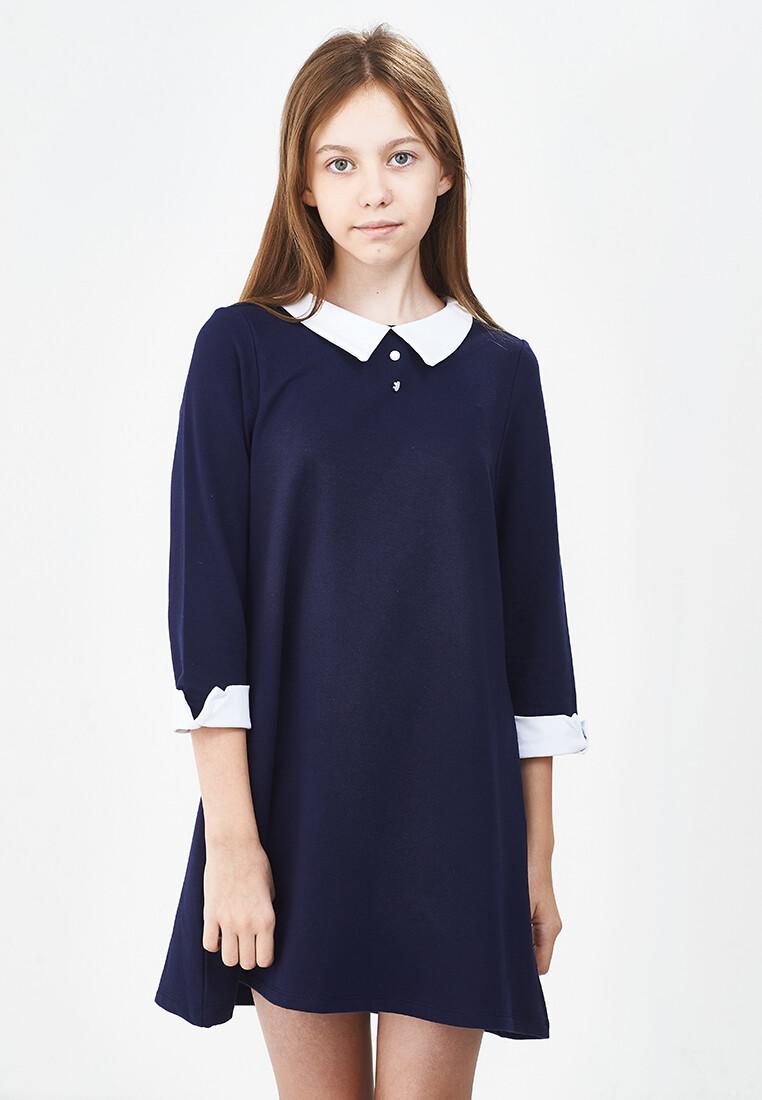 UD 4761(1)синий  Fifteen Платье (128-146см)