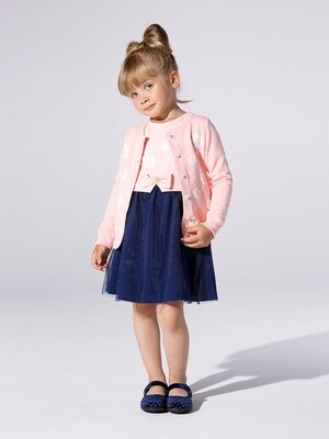 Платье Розы (98-122см) UD 3894(1)розовый