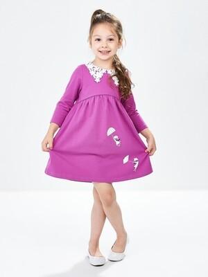 Платье (98-122см) UD 6646(2)лиловый