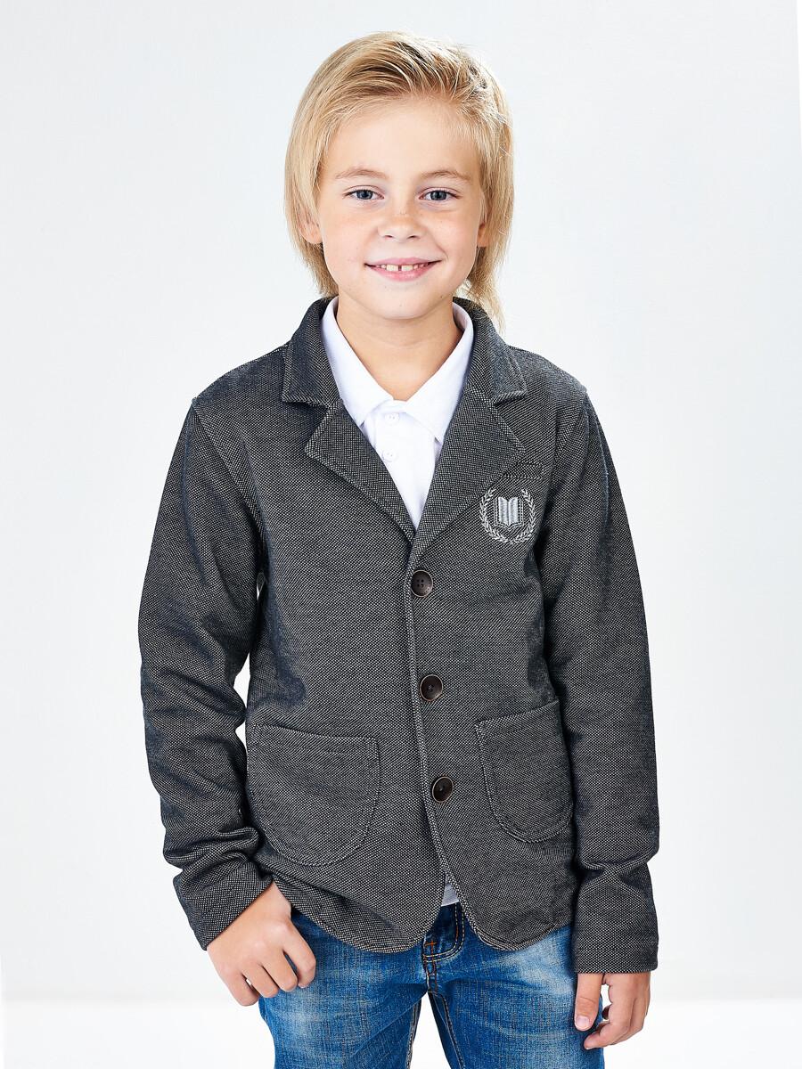 Джемпер (пиджак) (128-146см) UD 6731(2)т.серый