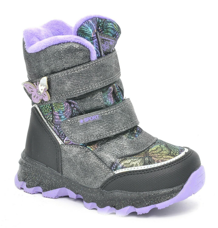 M139-2-H  Тотошка Ботинки зимние оптом, размеры 27-32