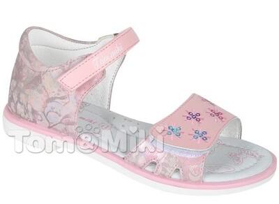 B-5169 Розовый  Tom&Miki Туфли открытые оптом, размеры 25-30