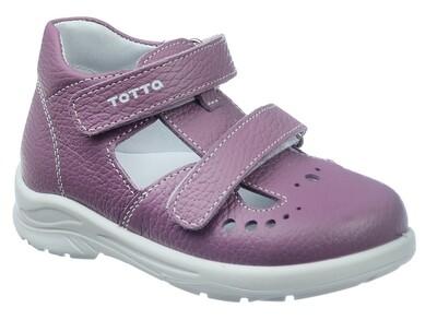 0229/1-01 (сирень) ТОТТА Туфли открытые оптом, размеры 27-31