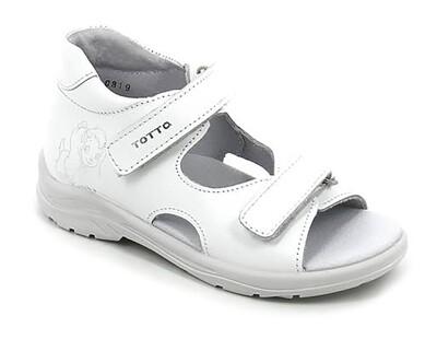 11/4-КП-10 (белые) ТОТТА Туфли открытые оптом, размеры 23-26