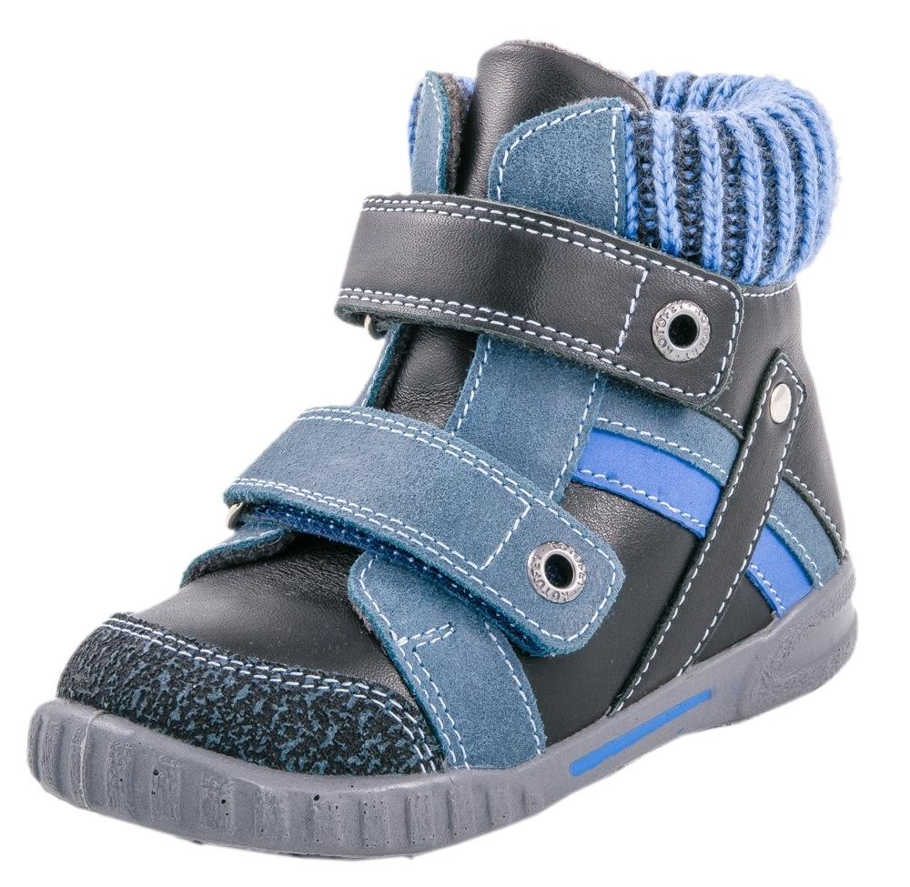 352085-31 Ботинки Котофей оптом, размеры 25-28