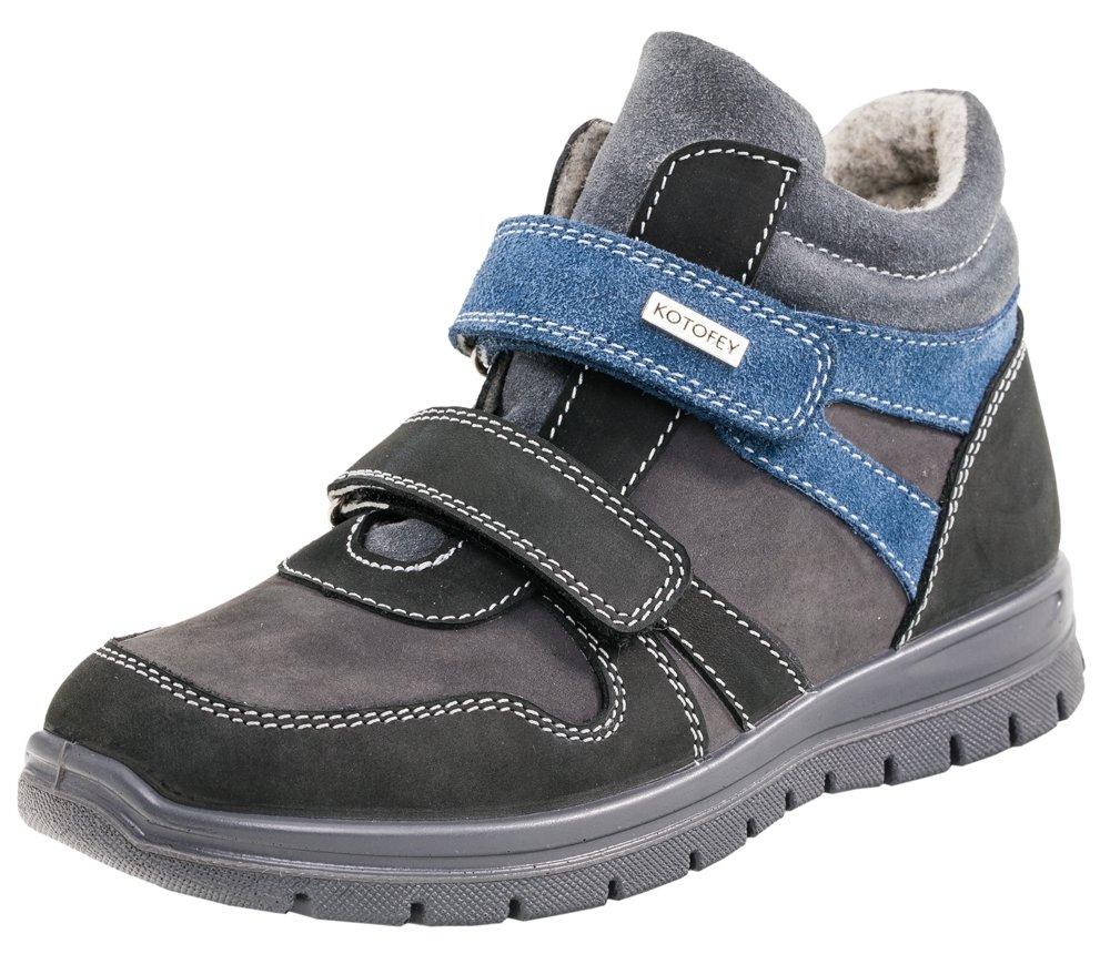 552061-31 Ботинки Котофей Оксфорд оптом, размеры 31-35