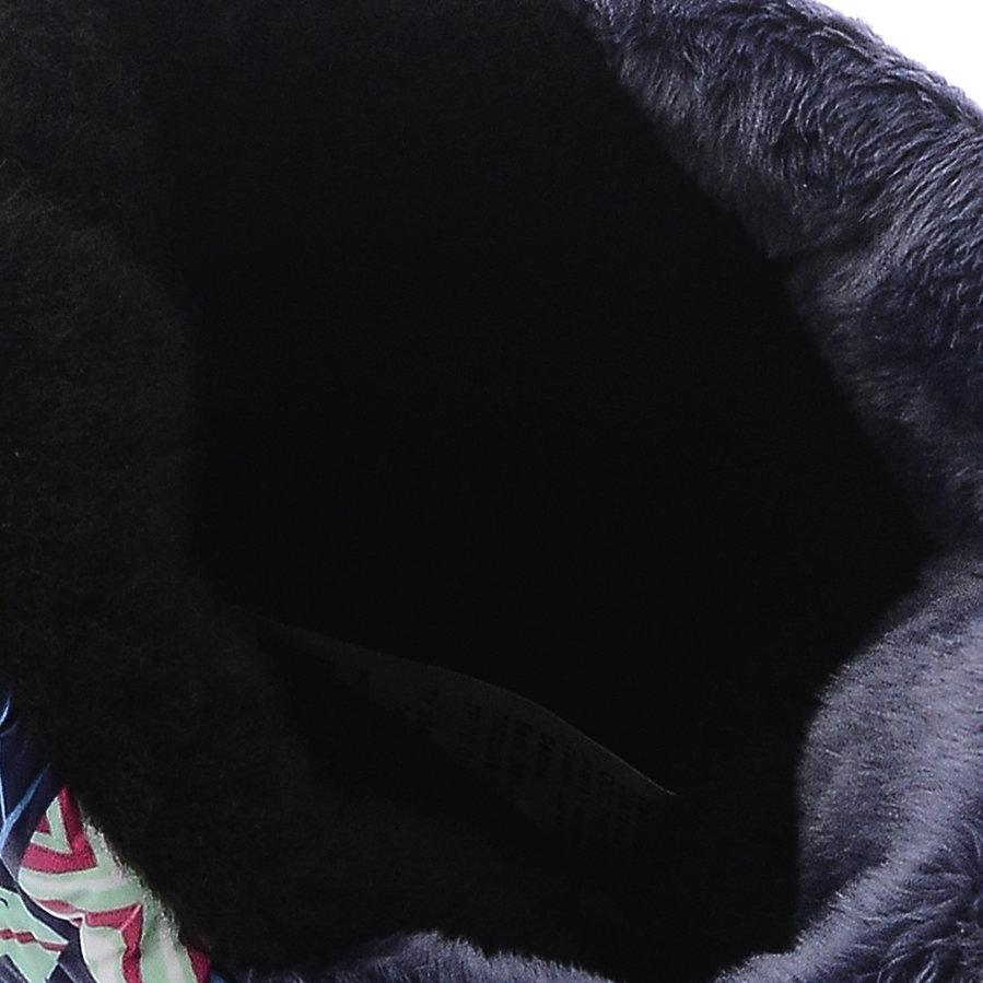 544 Сапоги Дюна Сноубутсы оптом перья на синет/т.синий, размеры 33-40