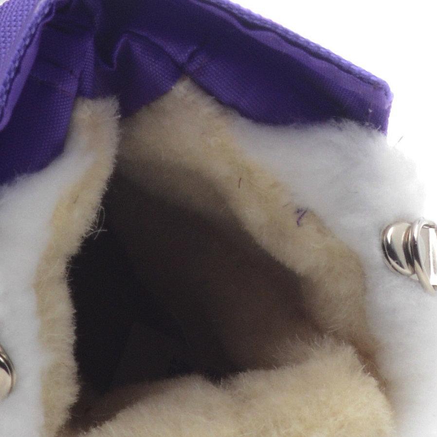 563-01 Сапоги Дюна Сноубутсы оптом, сиреневый/сиреневый, размеры 23-26