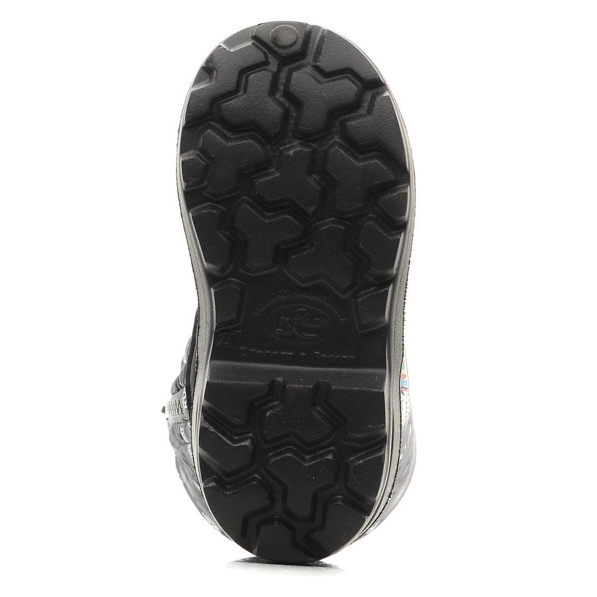 571/02-01 Сапоги Дюна Сноубутсы оптом, рок серый/т.серый, размеры 27-33
