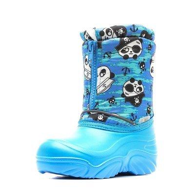 534/01-21 Сапоги Дюна Сноубутсы оптом, панда-пират/я.голубой, размеры 27-33