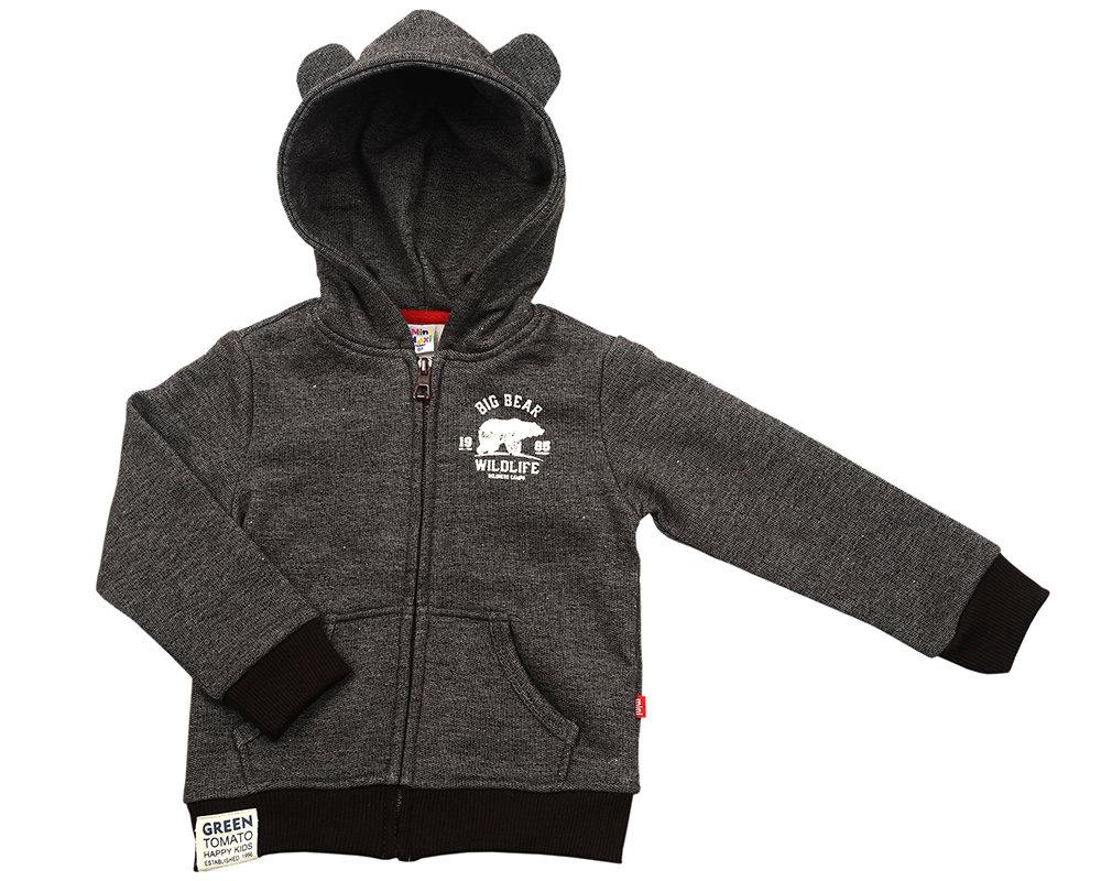 UD 2012(4)джинс  Mini-maxi Куртка с ушками (98-116см) UD 2012(4)джинс