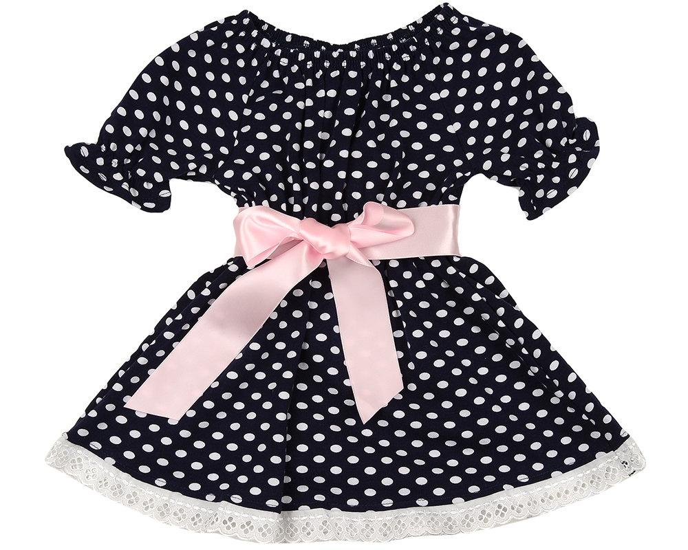 UD 0843(2)горох  Mini-maxi Платье в горох (98-116см) UD 0843(2)горох
