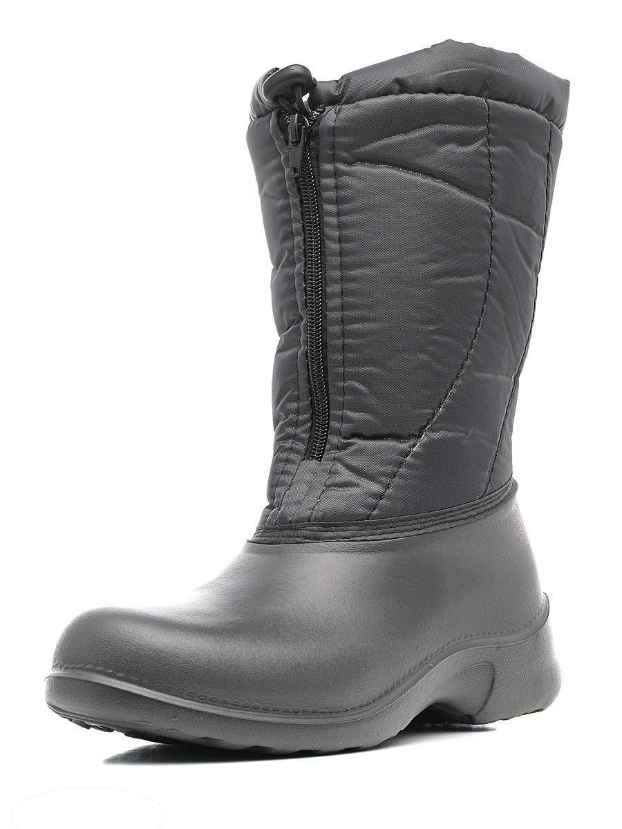 321-06 Сапоги Дюна Сноубутсы оптом, серый металлик/т.серый, размеры 37-41 321-06