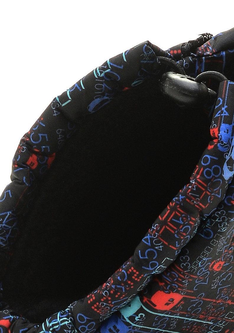 581/01-09 Дюна Сноубутсы оптом, машинки красно-синие/черный, размеры 27-33