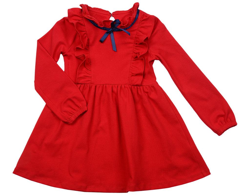 UD 2592(1)красный  Mini Maxi Платье (98-122см) UD 2592(1)красный